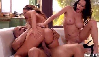 Big tits girl Getting Anally Fucked